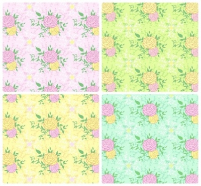 Free vector Vector background  peony tiled background vector case