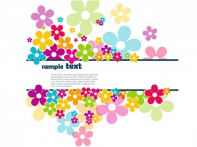 Free vector Vector background  petals background 01 vector