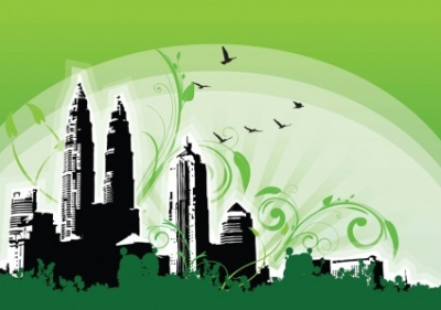 Free vector Vector misc  Petronas Twin Towers Illustration