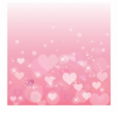 Free vector Vector Heart  Pink heart background