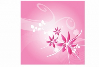 Free vector Vector flower  Pink lily