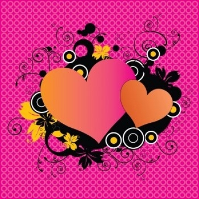 Free vector Vector Heart  Pink Love Hearts Vector Illustrator EPS