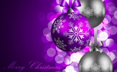 Free vector Vector Christmas  Purple Christmas Background