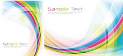 Free vector Vector background  rainbow flow lines background