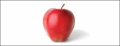 Free vector Vector trust to nature  Red Apple