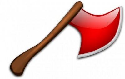 Free vector Vector clip art  Red Axe