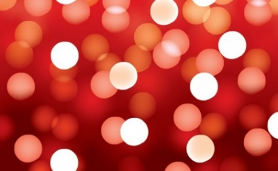 Free vector Vector background  Red Bokeh Background