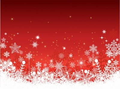 Free vector Vector Christmas  Red christmas horizontal background