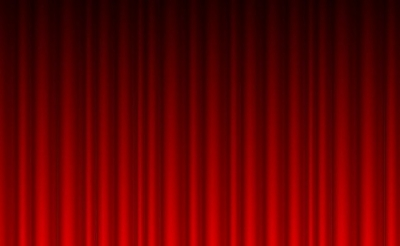 Free vector Vector background  Red Curtain Background