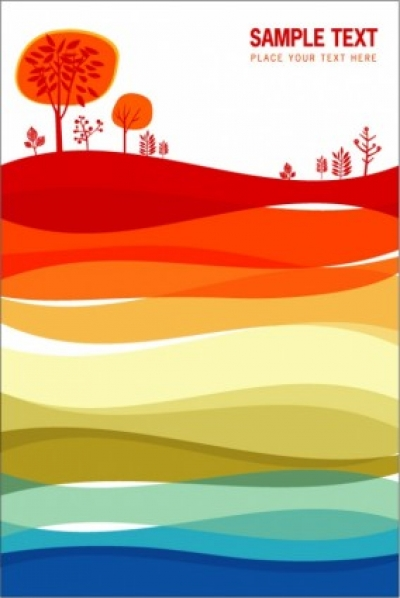 Free vector Vector background  red flowers vector background