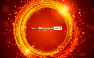 Free vector Vector background  Red Glowing Background