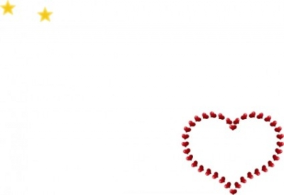 Free vector Vector clip art  Red Heart Shaped Border With Little Hearts clip art