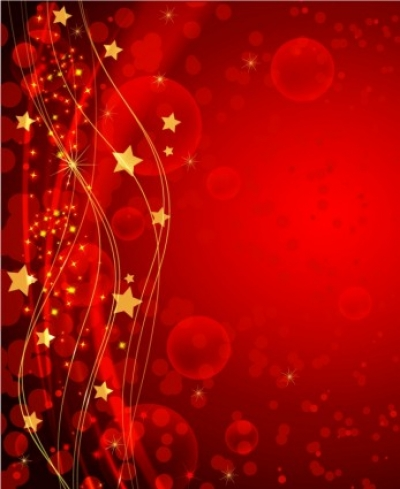 Free vector Vector Christmas  Red Holiday Background