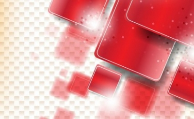 Free vector Vector background  Red Shapes Background