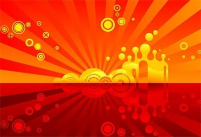 Free vector Vector background  red theme vector background