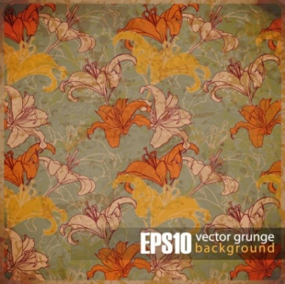 Free vector Vector background  retro background 05 vector