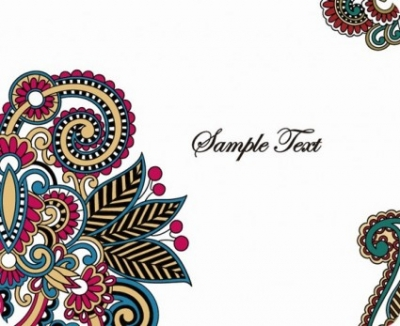 Free vector Vector background  Retro Pattern Card Background Vector Graphic