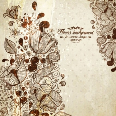 Free vector Vector background  retro pattern line draft background 01 vector