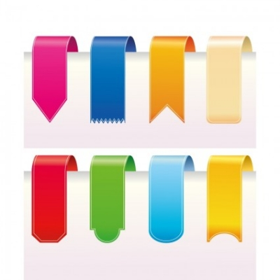 Free vector Vector web design  Ribbons