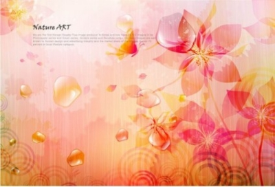 Free vector Vector background  romantic floral pattern background vector design 4