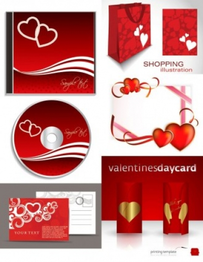Free vector Vector Heart  romantic valentine day elements 02 vector