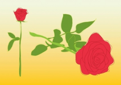 Free vector Vector misc  Roses Vector