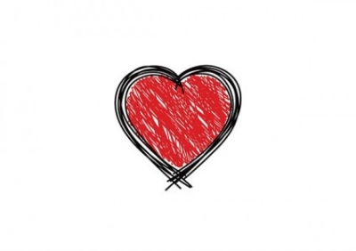 Free vector Vector Heart  Scribbled Heart
