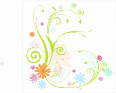 Free vector Vector flower  Scrolly Vines and Flowers