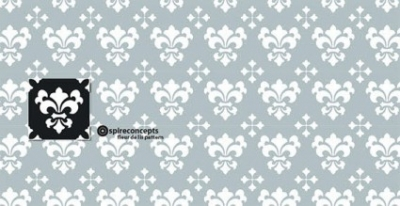 Free vector Vector flower  Seamless floral wallpaper
