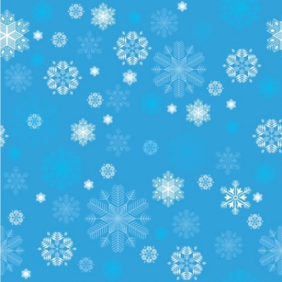 Free vector Vector pattern  Seamless Sketched Snowflakes background