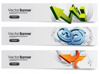 Free vector Vector banner  sense of science and technology background banner vector 1