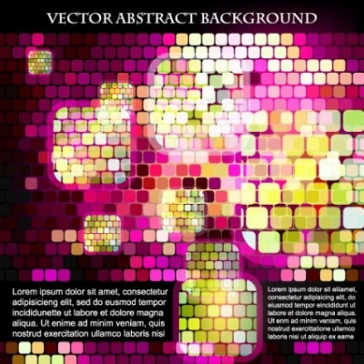 Free vector Vector background  sense of science and technology background grid vector