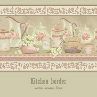 Free vector Vector background  Serving dishes Card vector