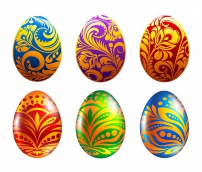 Free vector Vector misc  Set of Easter Eggs Vector Illustration