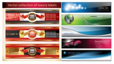 Free vector Vector banner  several banners banner vector