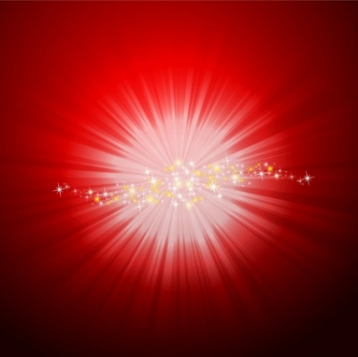 Free vector Vector abstract  Shining starburst
