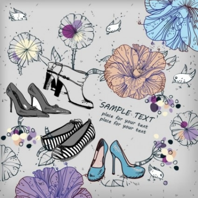Free vector Vector misc  shoes fashion illustrator 01 vector