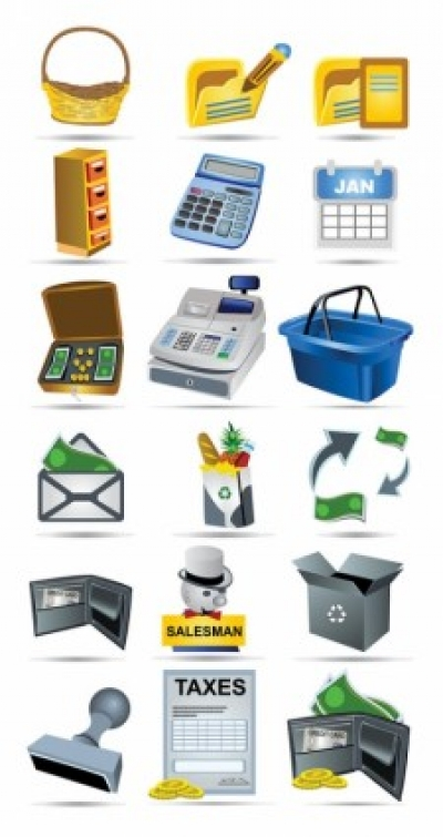 Free vector Vector icon  shopping icon vector payment