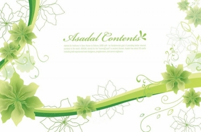 Simple and Elegant Floral Background Vector Graphics Free vector 13.40MB