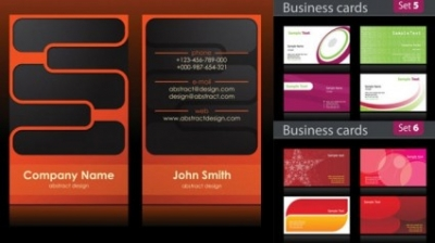 Free vector Vector background  simple business card background vector