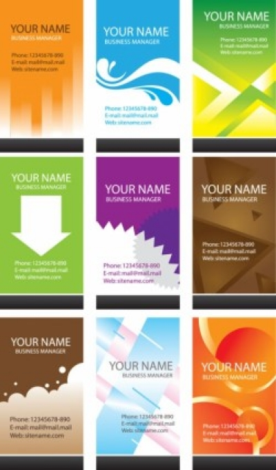 Free vector Vector misc  simple business card template vector