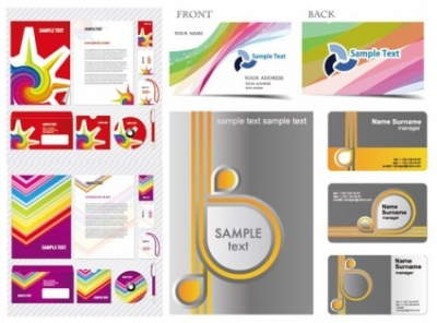 Free vector Vector misc  simple business card template vector vi and