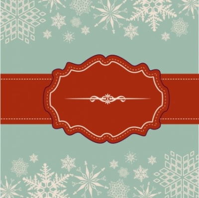Free vector Vector misc  Snowflake Background