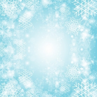 Free vector Vector background  Snowflake burst background
