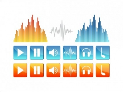 Free vector Vector icon   								Sound Icons