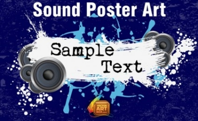 Free vector Vector misc  Sound Poster Art
