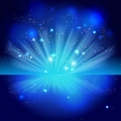 Free vector Vector background  Sparkling Stars Blue Night Background