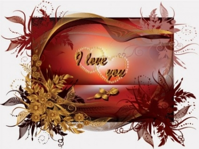 Free vector Vector Heart  special valentine day greeting card vector