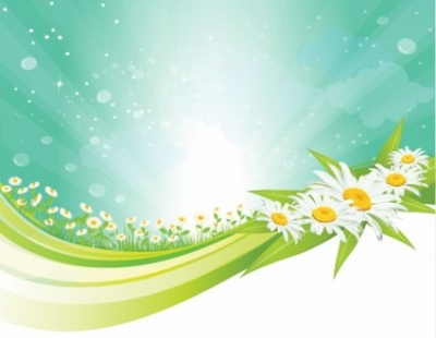 Free vector Vector background  Spring background