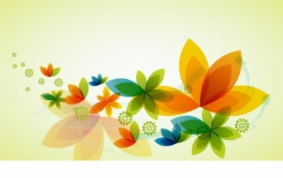 Free vector Vector background  Spring bloom